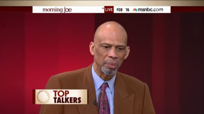 Kareem Abdul-Jabbar Calls ISIL A Fascist Group Concerned Only With Money And Power