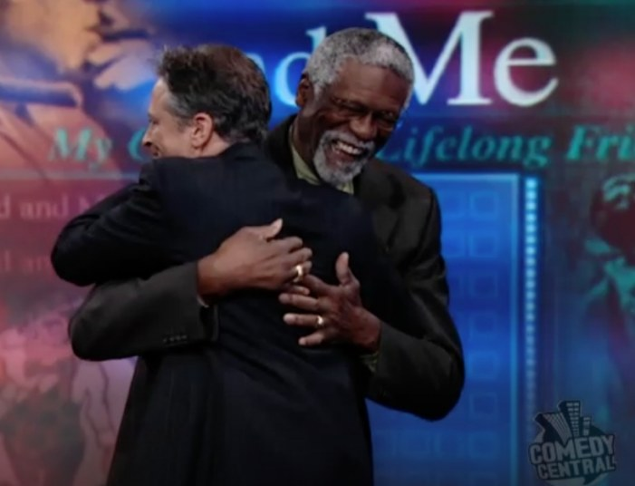 Bill Russell's Unique Relationship With Jon Stewart and The Daily Show